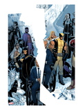 X-Men: Regenesis 1 Cover: Professor X, Storm, Cyclops, Iceman, Wolverine, Magneto and Others Posters by Chris Bachalo