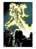 Thunderbolts 170: Ghost Flying Prints by Kev Walker