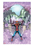 Marvel Adventures Spider-Man 14 Cover: Mysterio Trapping Spider-Man Prints by Patrick Scherberger