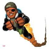 Marvel Super Hero Squad: Nick Fury Flying Art
