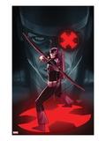 Hawkeye & Mockingbird No.4 Cover: Hawkeye Shooting Posters by Paul Renaud