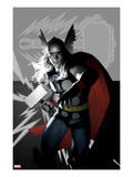 Wolverine Avengers Origins: Thor No.1 and The X-Men No.2 Print by Al Barrionuevo