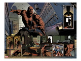 New Avengers No.23: Panels with Luke Cage Prints by Mike Deodato Jr.
