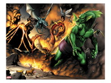 Avengers vs. Pet Avengers No.1: Fin Fang Foom Fighting Prints by Ig Guara