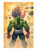 Incredible Hulk No.1 Cover: Hulk Standing Posters by Marc Silvestri
