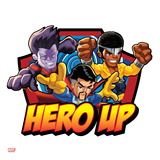 Marvel Super Hero Squad Badge: Hero Up - Wonder Man, Dr. Strange, and Luke Cage Posing Prints