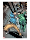 The Amazing Spider-Man 668: Peter Parker Fighting the Jackal Print by Humberto Ramos