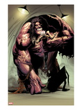 Thunderbolts 156: Mr. Hyde Crouching Prints by Kev Walker