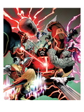 Uncanny X-Men No.541: Juggernaut, Colossus, Psylocke, Pryde, Kitty, Iceman, Angel, Magneto & Others Prints by Greg Land