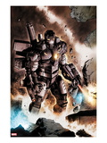 Iron Man: Rapture No.3: War Machine Standing Poster by Lan Medina