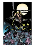 Daken: Dark Wolverine 7 Cover: Daken Under the Moon at Knight Art by Giuseppe Camuncoli