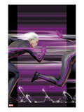 Ultimate Comics X-Men 4 Cover: Quicksilver Running Prints by Kaare Andrews