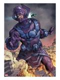 Chaos War No.3: Galactus Fighting Poster by Khoi Pham