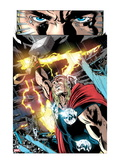 Thor: First Thunder No.5: Thor with Mjolnir and Lightning Posters by Tan Eng Huat