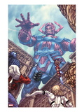 Fantastic Four 602 Cover: Galactus Prints by Mike Choi