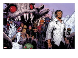 Wolverine &amp; The X-Men 3: Iceman, Kitty Pryde, Quentin Quire, Broo, Beast, Wolverine, and Others Posters by Chris Bachalo