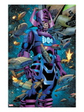 Fantastic Four 602: Galactus Poster by Barry Kitson
