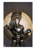 Iron Man 2.0 No.4 Cover: War Machine Poster by Salvador Larroca
