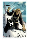 Wolverine No.20: Sabretooth Riding on top of a Plane Posters by Renato Guedes