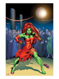 She-Hulks No.4 Cover: Lyra Prints by Ed McGuiness