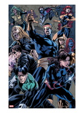 X-Men Forever 2 No.12: Cyclops, Nightcrawler, Shadowcat, Mystique, Jean Grey, Rogue, and Polaris Prints by Rodney Buchemi