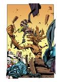 Annihilators No.3: Rocket Raccoon and Groot Art by Timothy Green II