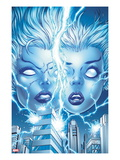 X-Men Forever 2 No.13 Cover: Storm and Ro Posing Prints by Tom Grummett