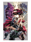 Iron Man/Thor 2 Cover: Thor and Iron Man Smashing Prints by Stephen Segovia