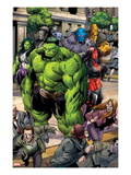 Incredible Hulks No.621: Hulk, Red She-Hulk, and She-Hulk Posters by Paul Pelletier