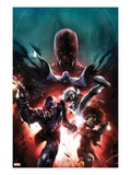 Shadowland: Blood On The Streets No.1 Cover: Shroud, Misty Knight, Silver Sable, and Paladin Prints by Francesco Mattina