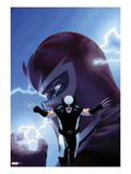 Uncanny X-Force No.9 Cover: Wolverine and Magneto Art by Esad Ribic