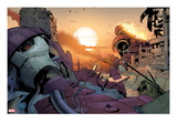Ultimate Comics X-Men 10: Sentinel Destroyed Prints by Paco Medina