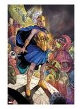 Chaos War No.3: Athena Standing Print by Khoi Pham