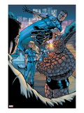 Heroic Age: One Month to Live 2: Mr. Fantastic, Invisible Woman, Thing, and Human Torch Posing Posters by Koi Turnbull