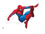 Spider Sense Spider-Man: Valentine, Spider-Man Swinging Posters