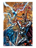 Chaos War No.3 Cover: Thor Fighting Prints by Ed McGuinness