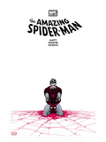 The Amazing Spider-Man 655 Cover: Spider-Man Kneeling Prints by Marcos Martin