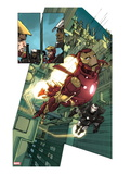Iron Man 2.0 No.1: Iron Man and War Machine Prints by Barry Kitson