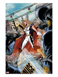 Fear Itself: Youth in Revolt No.1: Thor Girl Standing with a Hammer Prints by Mike Norton