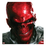 Vengeance 5 Cover: Headshot of Red Skull Prints by Gabriele DellOtto