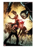 Age of Apocalypse No.2 Cover: Cyclops and Others Posters by Humberto Ramos