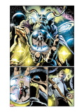 Thor: First Thunder No.5: Panels with Odin Art by Tan Eng Huat