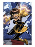 Avengers: Earths Mightiest Heroes No.3: Wasp Flying Posters by Patrick Scherberger