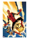 New Avengers 4 Cover: Spider-Man Jumping Posters by Stuart Immonen