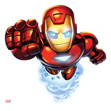 Marvel Super Hero Squad: Iron Man Flying Affiches