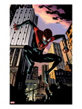 Ultimate Comics Spider-Man No.7: Spider-Man Jumping Posters by Chris Samnee