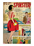 Marvel Comics Retro Panel: Spinster Posters