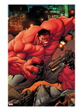 Venom No.13.3: Red Hulk Print by Stefano Caselli