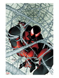 Scarlet Spider No.1: Scarlet Spider in a Web Poster by Ryan Stegman