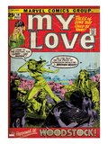 Marvel Comics Retro: My Love No.14 Cover: Standing Print